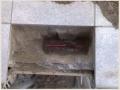 Обрыв греющего кабеля обогрева крыльца загородного дома.
