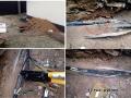 Ремонт кабеля резервного питания от генератора