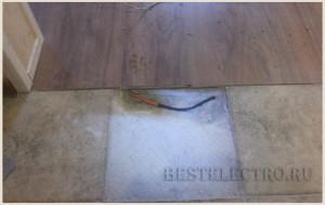 Ремонт кабеля теплого пола